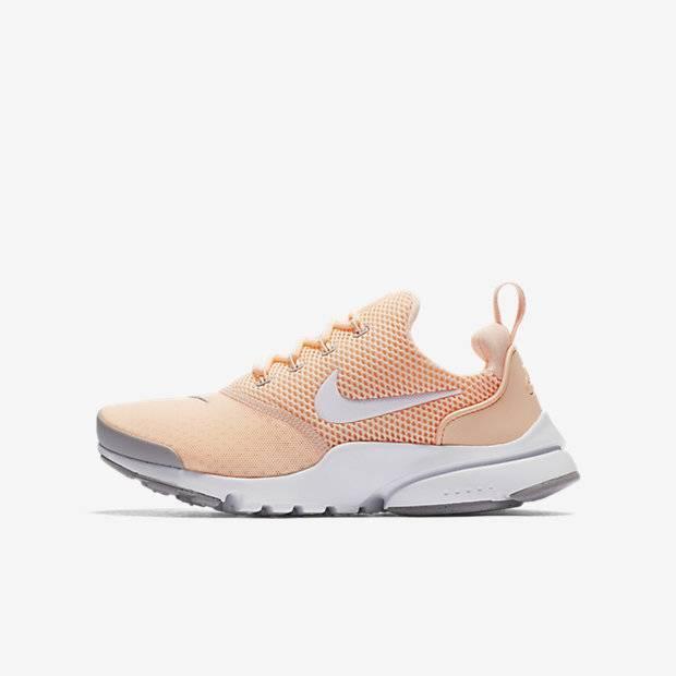 1618a6b6 Кроссовки для школьников Nike Presto Fly (Кремовый) (913967-800 ...