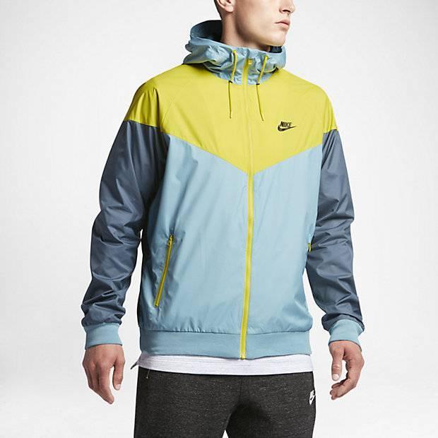b93474be Мужская куртка Nike Sportswear Windrunner (Синий) (727324-408 ...